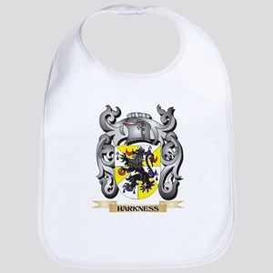 Harkness Coat of Arms - Family Crest Baby Bib