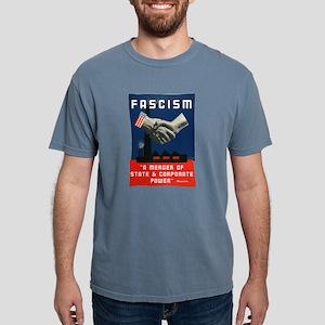 Fascism Mens Comfort Colors Shirt