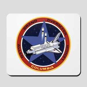 STS-5 Columbia Mousepad