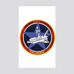 STS-5 Columbia Sticker (Rectangle)