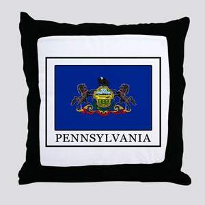 Pennsylvania Throw Pillow