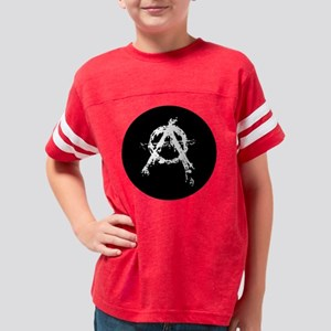 anarchycircle Youth Football Shirt