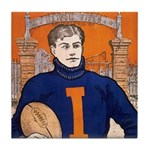 Illinois - 1906 Tile Coaster