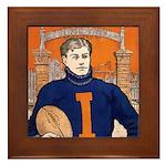 Illinois - 1906 Framed Tile