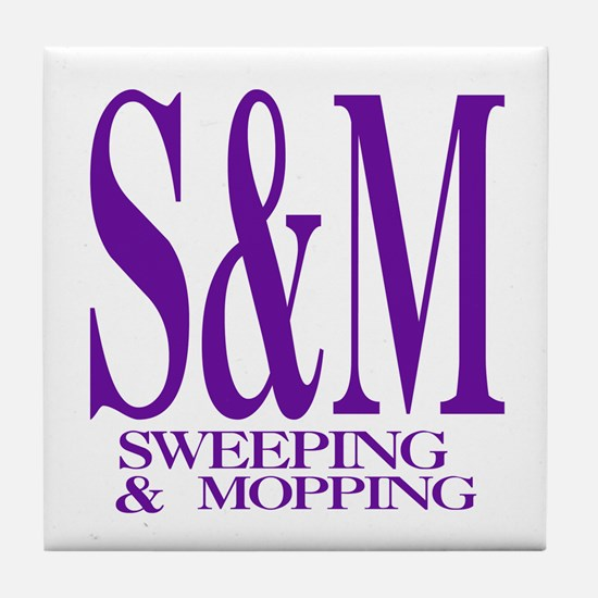 S&M Tile Coaster