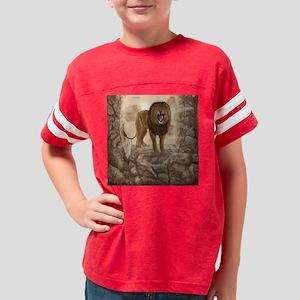 RoaringLion_queen_duvet Youth Football Shirt