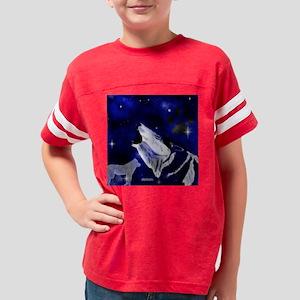 WolfSpirit_shower_curtain Youth Football Shirt
