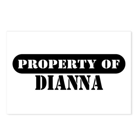 Property of Dianna Postcards (Package of 8)