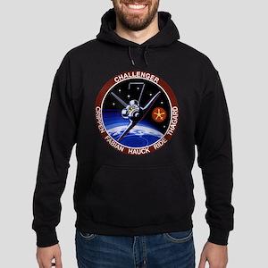 STS 7 Challenger Hoodie (dark)