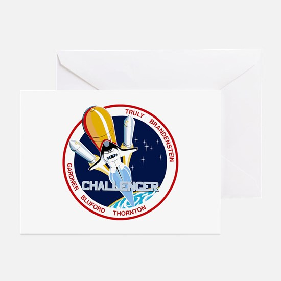 STS-8 Challenger Greeting Cards (Pk of 10)