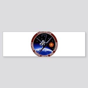 STS-8 Challenger Sticker (Bumper)