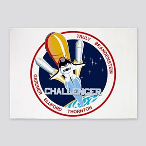 STS-8 Challenger 5'x7'Area Rug