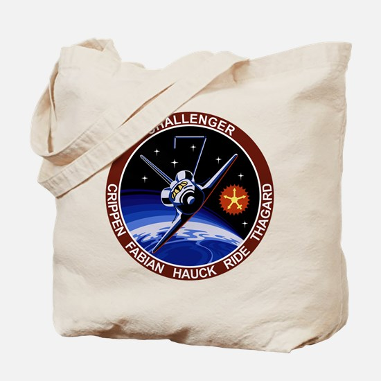STS 7 Challenger Tote Bag