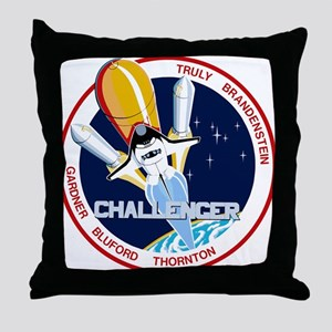 STS-8 Challenger Throw Pillow