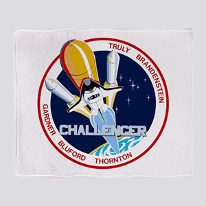Sts-8 Challenger Throw Blanket