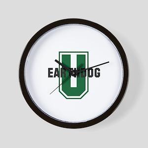 Earthdog University Wall Clock