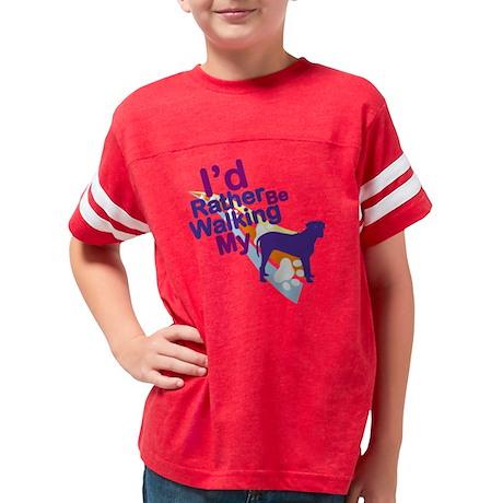 bullmastiffV Youth Football Shirt