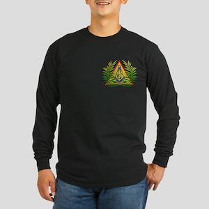 Masonic Acacia Long Sleeve Dark T-Shirt