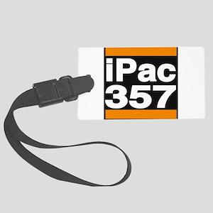 ipac 357 orange Luggage Tag