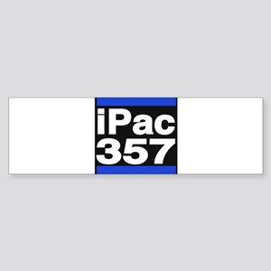 ipac 357 blue Bumper Sticker