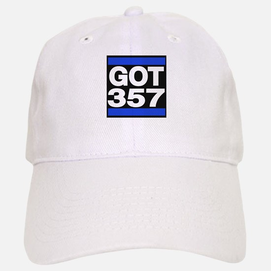 got 357 blue Baseball Baseball Baseball Cap
