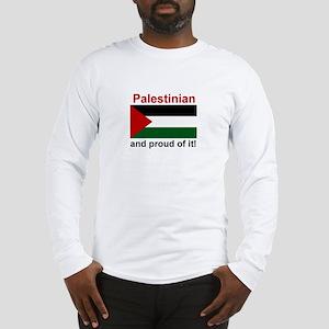 Proud Palestinian Long Sleeve T-Shirt