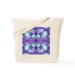 'Virtual Violets' Tote Bag
