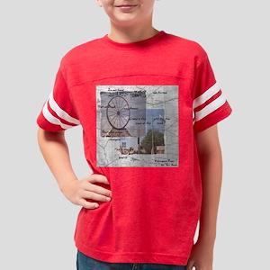 wampum prayer Youth Football Shirt