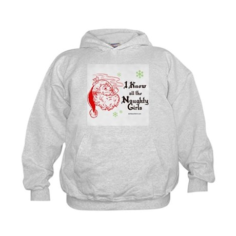 I know all the naughty girls - Kids Hoodie