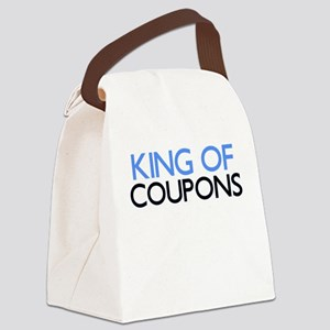 KING OF COUPONS Canvas Lunch Bag