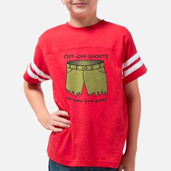 cutoffshorts. Youth Football Shirt