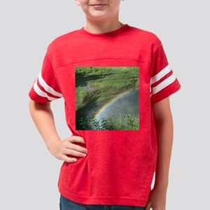 rainbow-square Youth Football Shirt