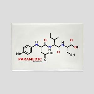 Paramedic molecularshirts.com Rectangle Magnet