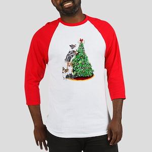 Corgi Christmas Baseball Jersey