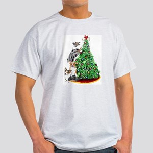 Corgi Christmas Light T-Shirt