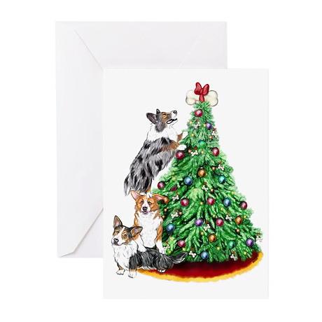 Corgi Christmas Greeting Cards (Pk of 10)