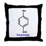 Molecularshirts.com Paramedic Throw Pillow