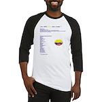 Colombian made Baseball Jersey