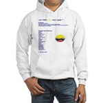 Colombian made Hooded Sweatshirt