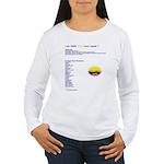 Colombian made Women's Long Sleeve T-Shirt
