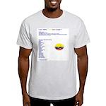 Colombian made Ash Grey T-Shirt