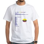 Colombian made White T-Shirt
