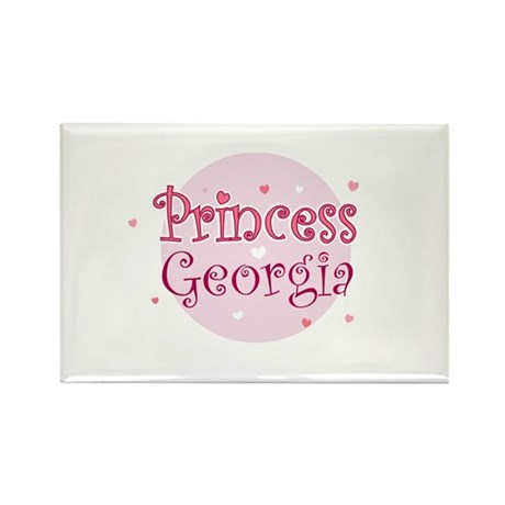 Georgia Rectangle Magnet (10 pack)