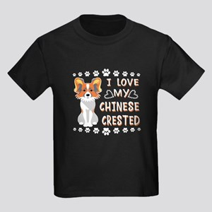 Chinese Crested Shirt - Love Chinese Crest T-Shirt