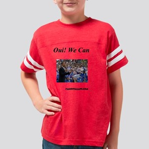 Oui! we can Youth Football Shirt