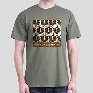 Australian Shepherd Fan Dark T-Shirt