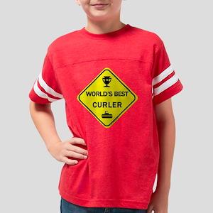 Best_CURLER Youth Football Shirt
