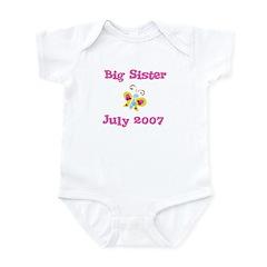 Big Sister July 2007 Infant Creeper
