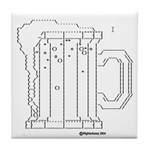 Drunk in Code Cup[Tile Coaster]