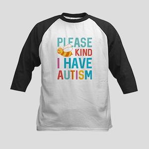 I Have Autism Baseball Jersey
